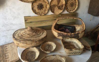 Flussio, l'arte del cestino in asfodelo